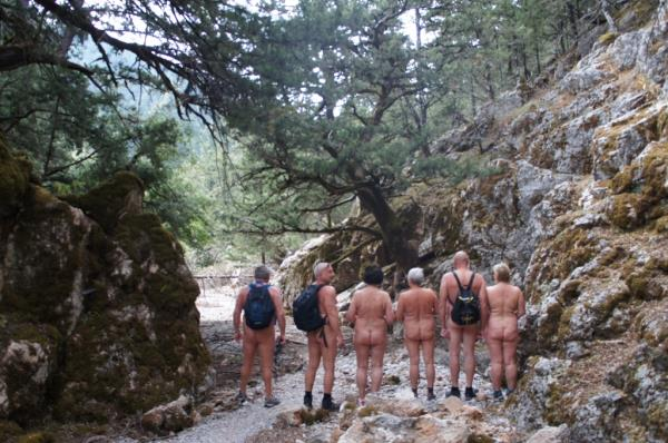 Jeep Safari - Naked Hiking