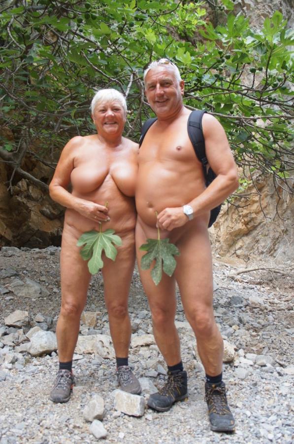 Adam & Eva with Fig Leaf