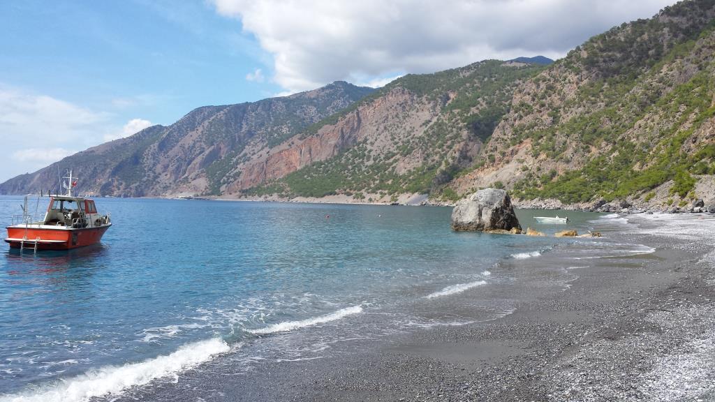 Skinny Dipping At Agios Paulos Beach