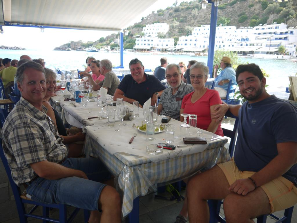 Lunch At Loutro