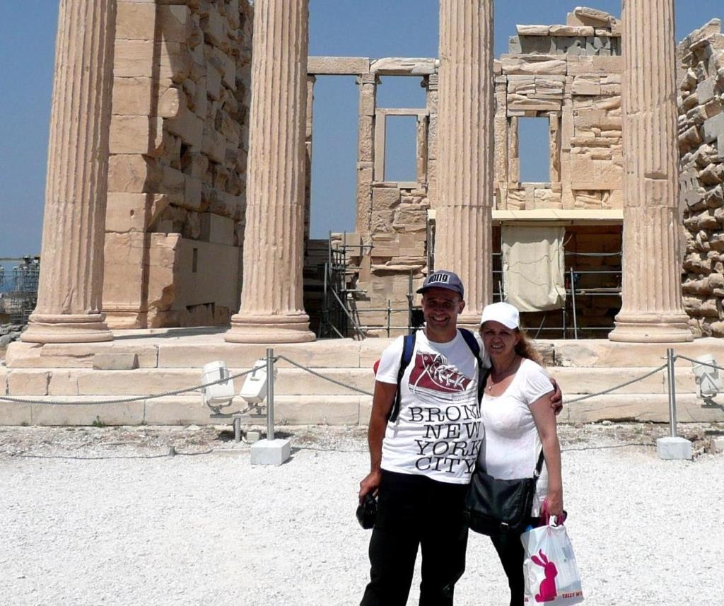 While at Athens we visited Acropolis