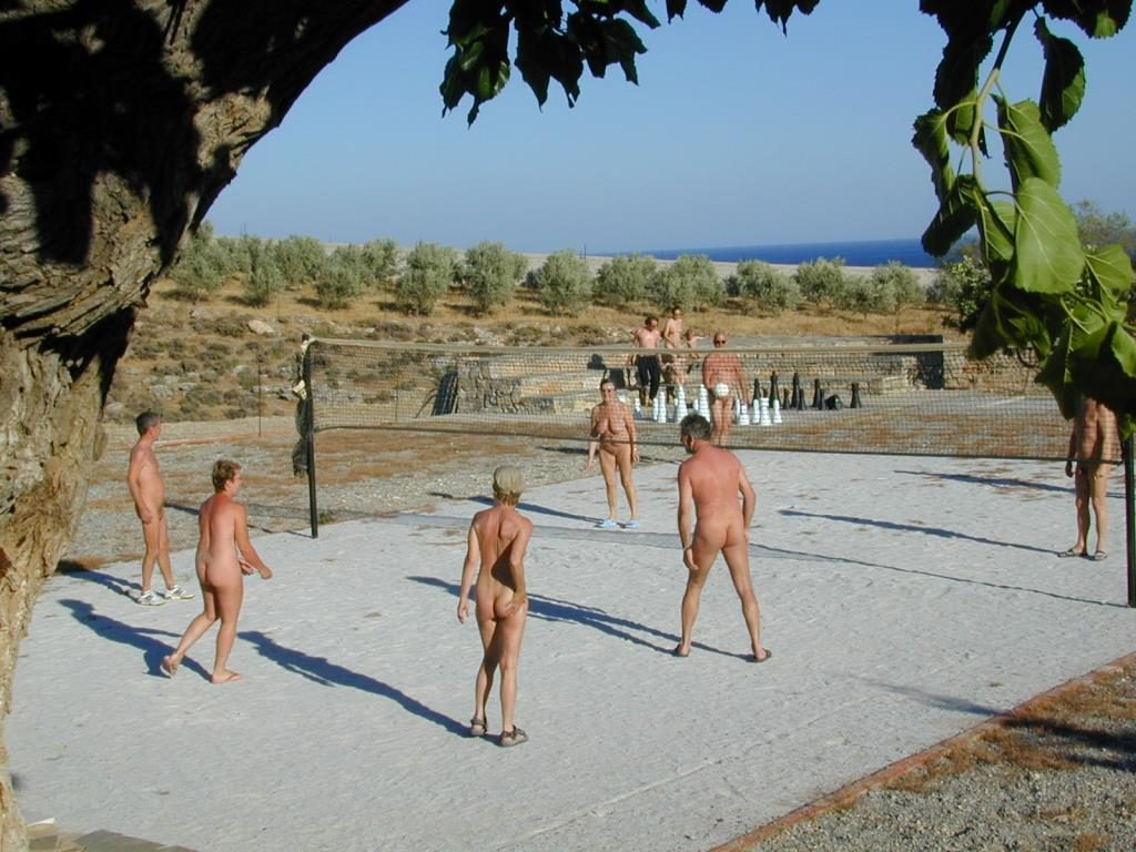 Vritomartis Volley court