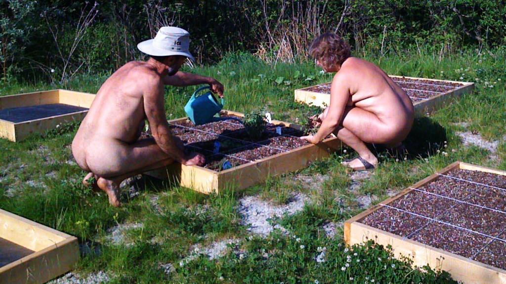 Gardening Naked