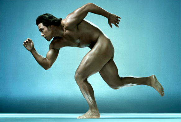 Exercise naked and the benefits for the body
