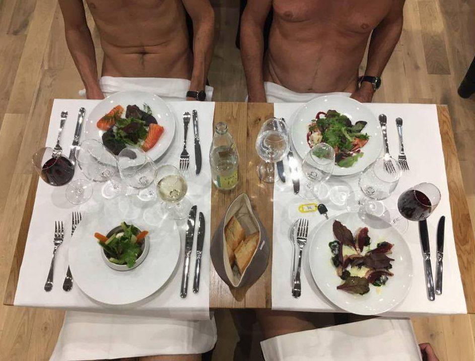 Dine Naked